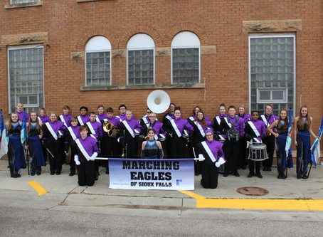 Marching Eagles of Sioux Falls 2018