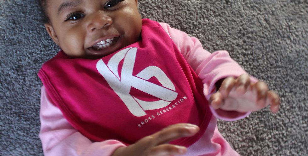 Kross Generation Baby Bib (Pink)