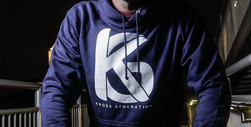 Kross Generation Logo Hoodie (Navy)