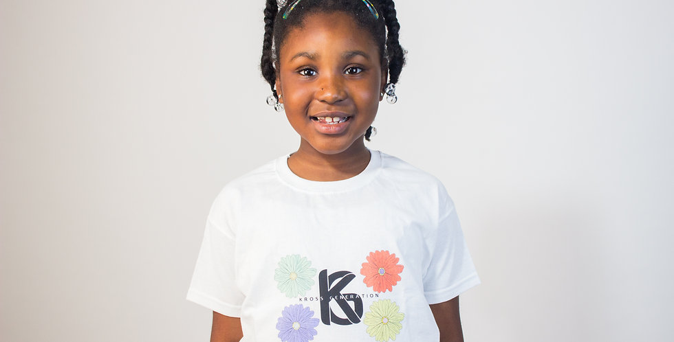 Kross Generation Flower Logo T-Shirt