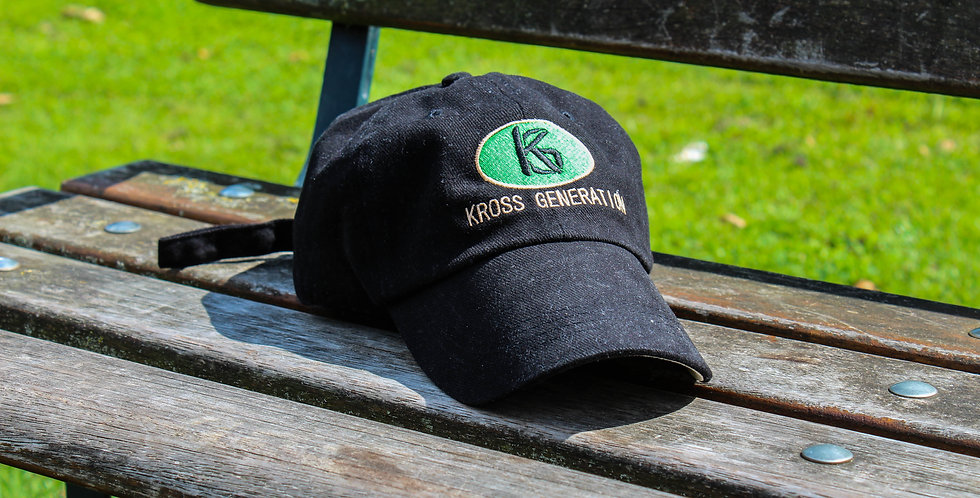 Kross Generation Logo Oval cap (Green/Black)
