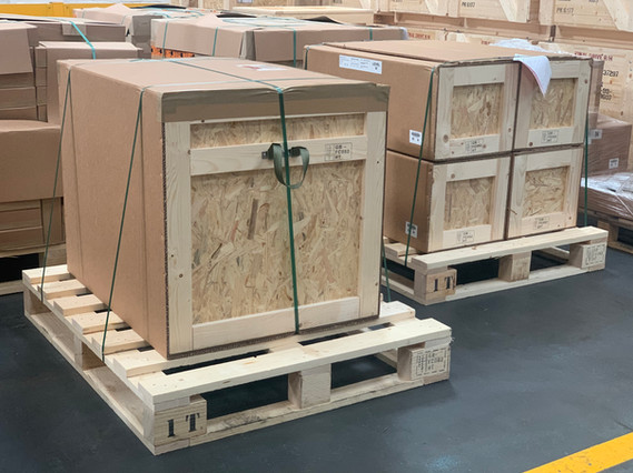 Fibreboard & Wood Wrap Around Containers