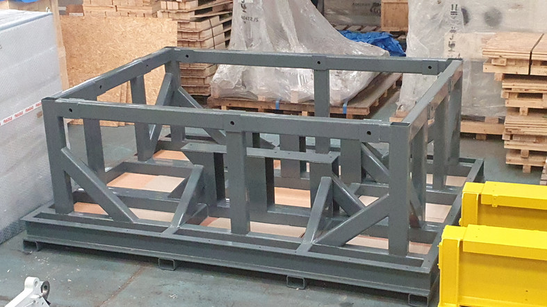 MoD Special to Contents Steel Fabricated Framework Painted