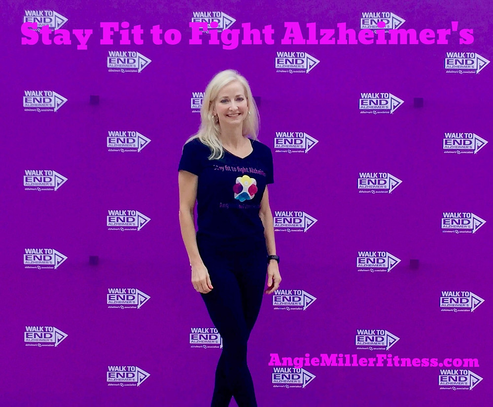Alzheimer's Disease, Exercise, Brain Health, Caregiver, Caregiver Support, Fight Alzheimer's, End Alzheimer's, Fitness, Walk to End Alzheimer's, Alz, Dementia, Healthy Aging, Women's Fitness, Healthy Lifestyle, Prevention, Fitness Blog, Lifestyle Blog, Angie Miller, Angie Miller Fitness