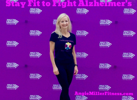 Stay Fit To Fight Alzheimer's
