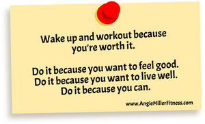 Angie Miller, Angie Miller Fitness, Fitness Expert, Blogger, Chicago Blogger, Fit Blogger, Fitness Educator, NASM, AFAA, Exercise Motivation, Exercise, Fitness, Health, Wellness, Lose Weight, Healthy Body, Healthy Mind, Fitness Tips