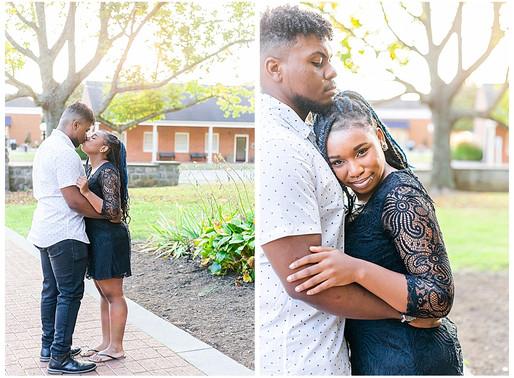 Houston & AJ   CSC Photography - Couples   Emory & Henry College, VA