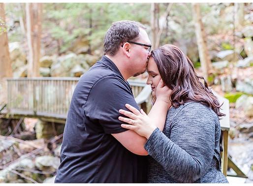 Ben & Kim   CSC Photography - Couples   Bays Mountain - Kingsport, TN