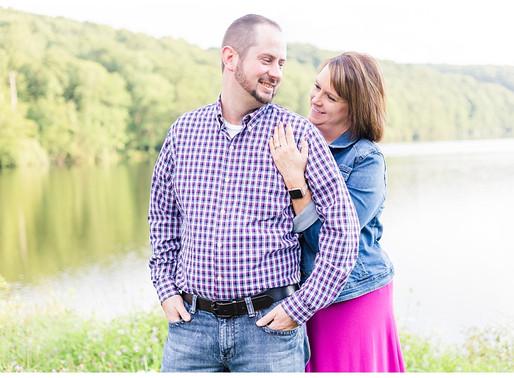 Jason & Katrina | CSC Photography - Couples | Hidden Valley Lake - Abingdon, VA