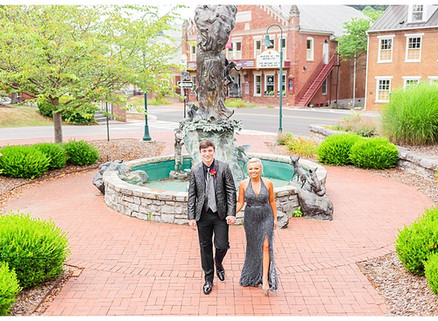 Candler & Shayli | CSC Photography - Couples Prom Session | Martha Washington Inn - Abingdon, VA