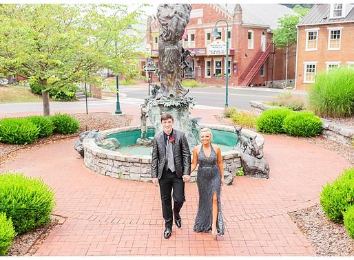 Candler & Shayli | CSC Photography - Couples Prom Session | Martha Washington Inn - Abingdon, VA