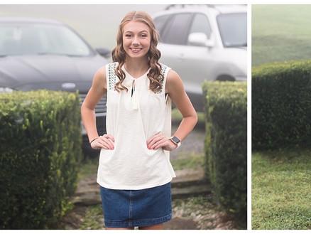 First Day of School | Lauren - Portraits | Lebanon, VA