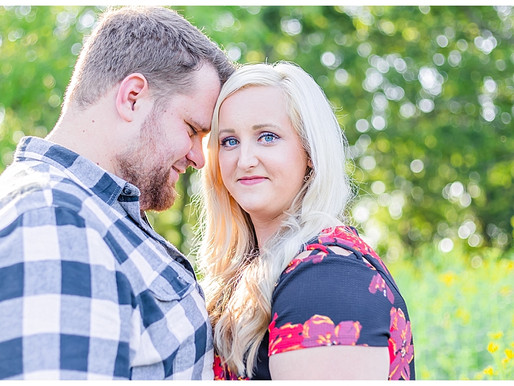 Tyler & Kimberli | CSC Photography - Couples | Meadow at Nellie's Cave - Blacksburg, VA