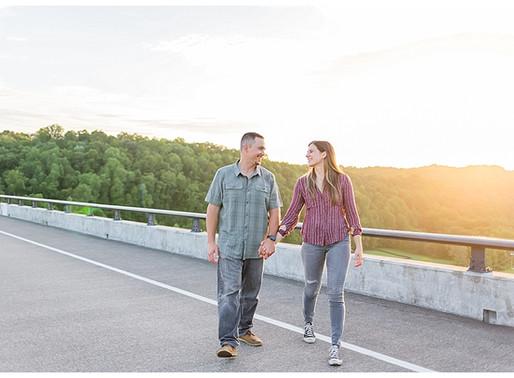 Colin & Danielle - Engaged | CSC Photography | Natchez Trace Parkway Bridge - Nashville, TN