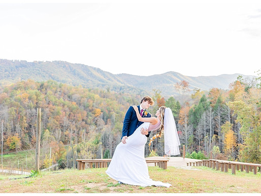 Matthew & Heather | CSC Photography - Fall Elopement | Mountain Mist Farm - Pigeon Forge, TN