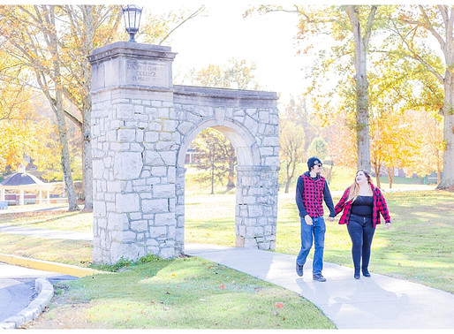 Joey & Frances   CSC Photography - Couples   Emory & Henry College, VA