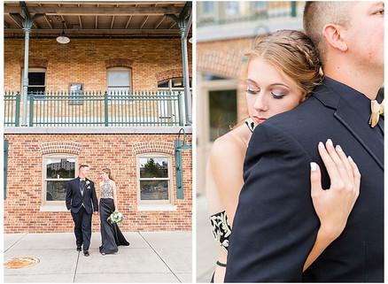 Jacob & Lauren - Prom 2020   CSC Photography - Couples   Bristol Train Station - Bristol, VA