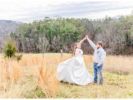 Dalton & Shelby - Married | CSC Photography - Weddings | Pigeon Forge, TN