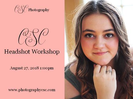 CSC Headshot Workshop | Information | Emory, VA