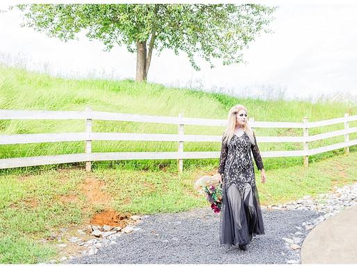 Halloween Wedding Inspiration | CSC Photography - Weddings | Broken J Farm - Bluff City, TN