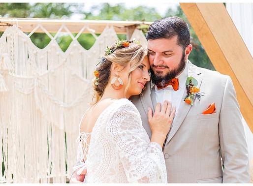 70's Boho Wedding Inspiration | CSC Photography - Weddings | Greenwood Oaks - Afton, TN