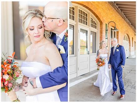 Phil & April - Married | CSC Photography - VA Wedding Photographer | Bristol Train Station Wedding