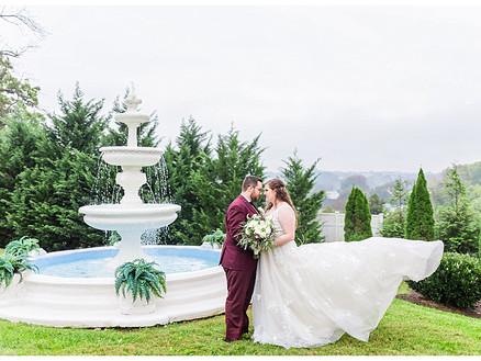 Colby & Katie | CSC Photography - Weddings | Bedford Columns - Lynchburg Wedding Photographer
