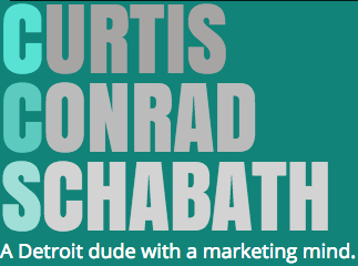Curtis Conrad Schabath - A marketing mind is a terrible thing to waste