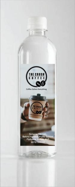 The Crush Coffee bottle