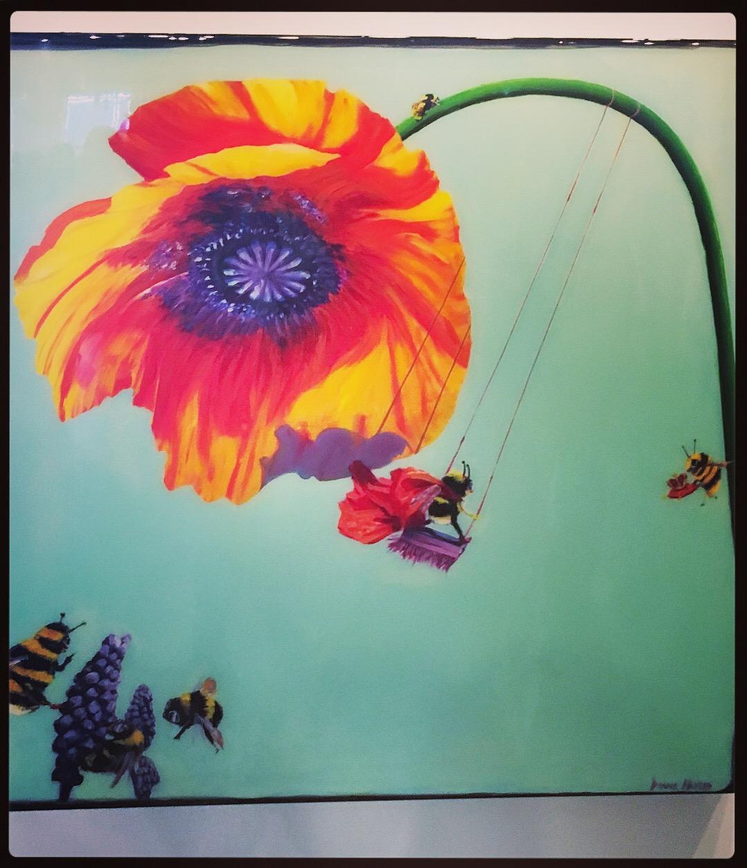 _BeeFun_Painting35_x35_x2_