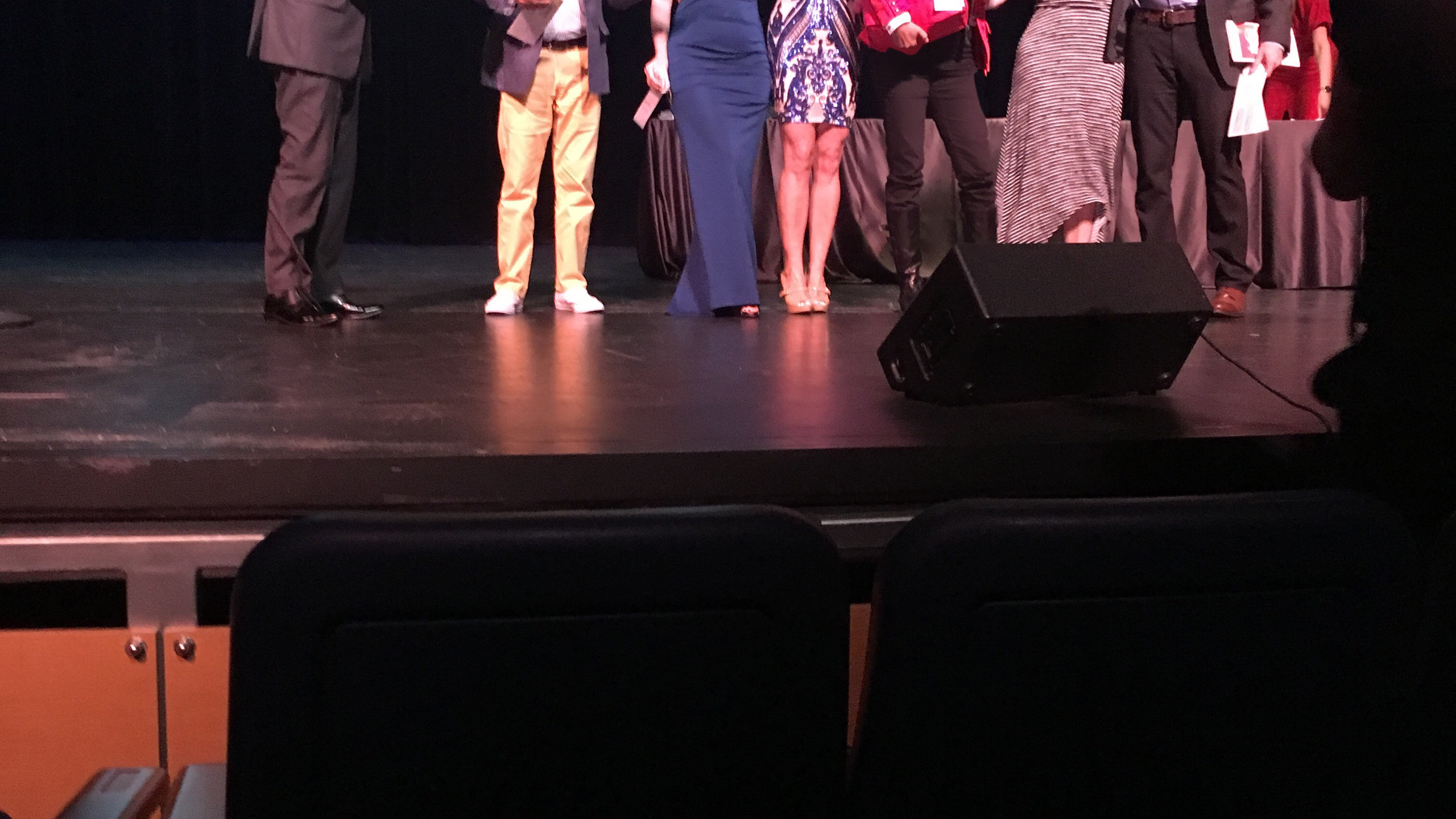 Artists Accepting Awards