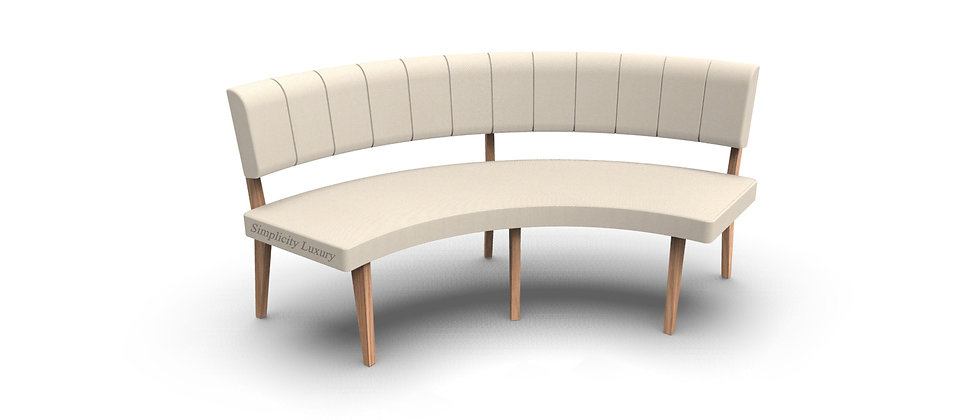 Simplicity Luxury - Round Booth Seating - Large 1/4 Circle