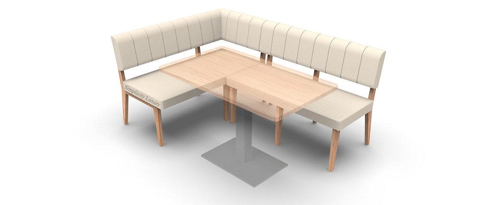 Simplicity Luxury - Corner Seating - 1800mm x 1200mm - Right Hand