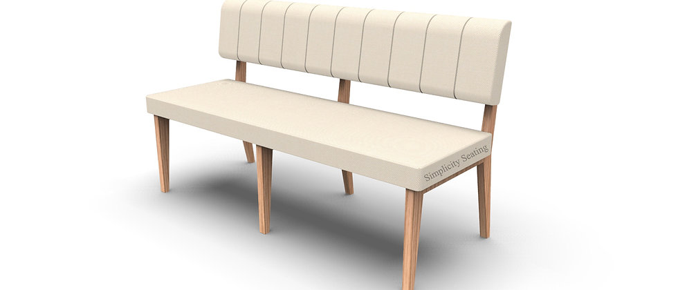 Simplicity Luxury - Straight 1500mm Booth Seating