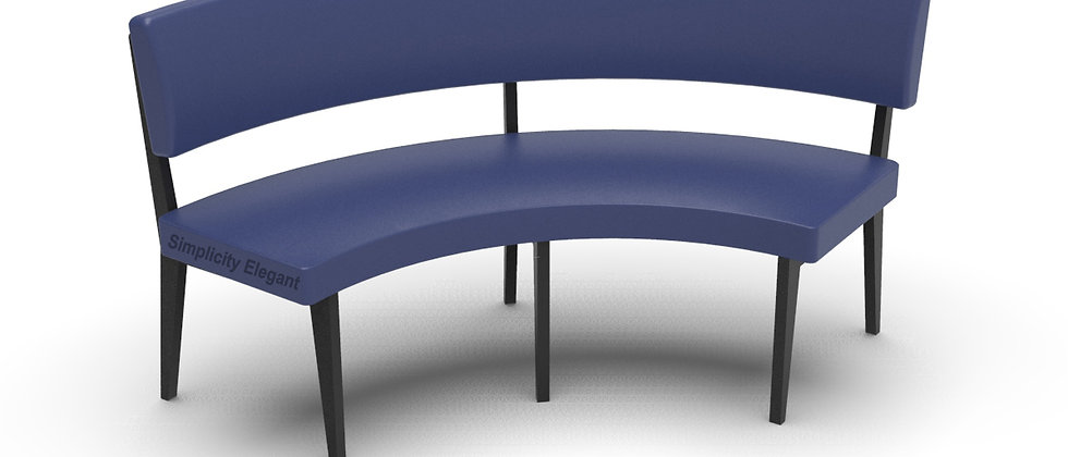 Simplicity Elegant - Round Booth Seating - Large 1/4 Circle
