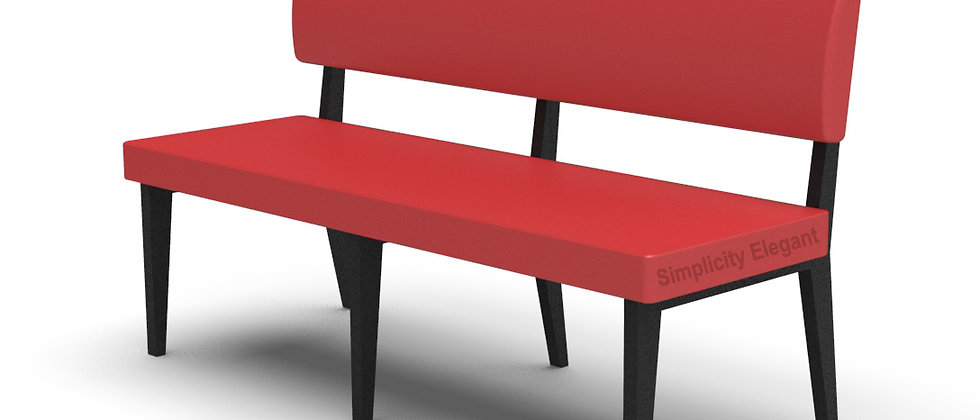 Simplicity Elegant - Straight 1500mm Booth Seating