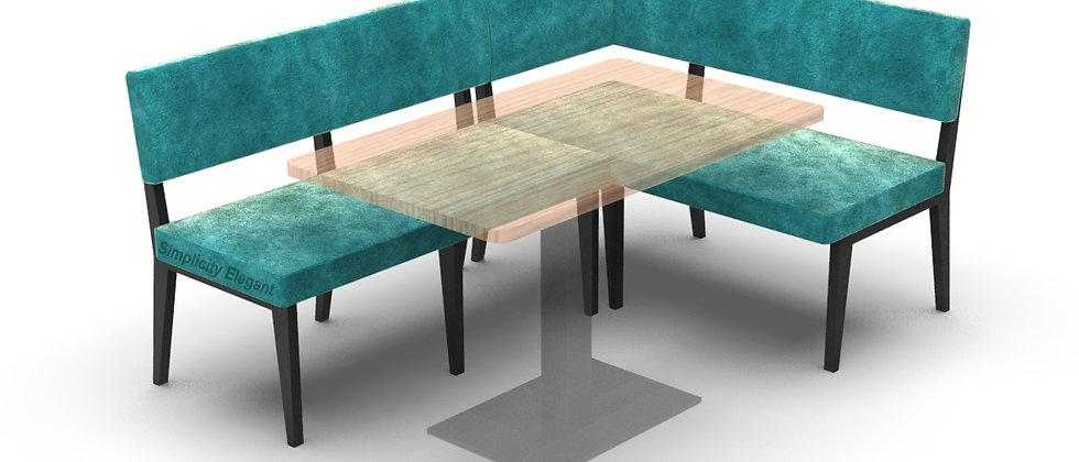Simplicity Elegant - LH Corner Seating - 1800mm x 1200mm - Left Hand