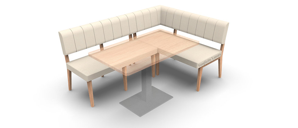 Simplicity Luxury - Corner Seating - 1800mm x 1200mm - Left Hand