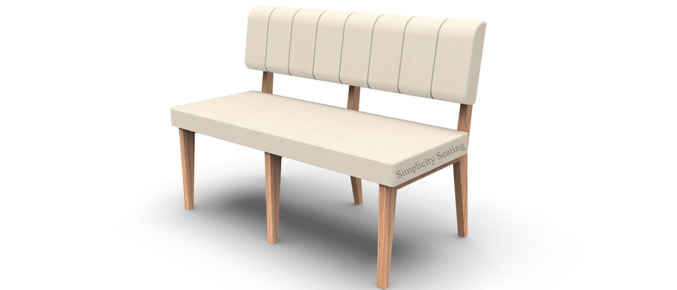 Simplicity Luxury - Straight 1200mm Booth Seating