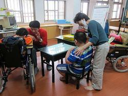 激勵與開導智慧班輪椅學生能以較健全的心智看待自己的身體