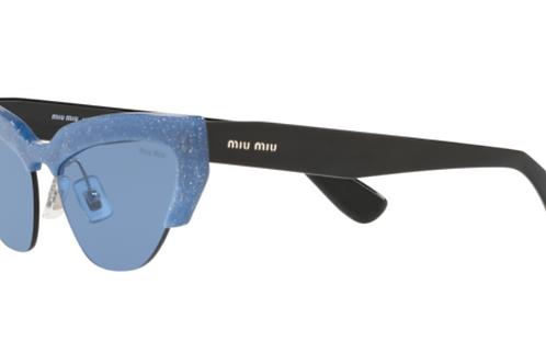Occhiale da Sole Miu Miu 1202J1 Cat Shape Glitter
