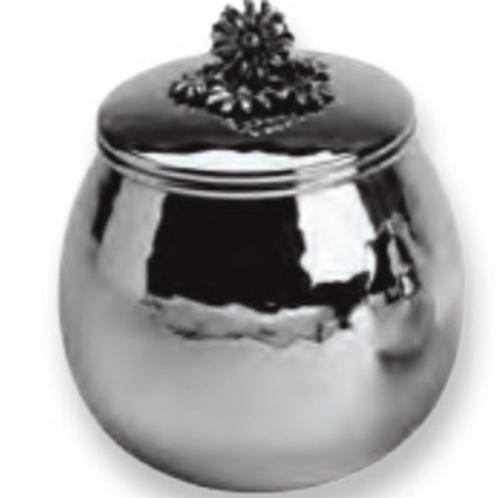 Giovanni Raspini 1833 Zuccheriera argento Margherite