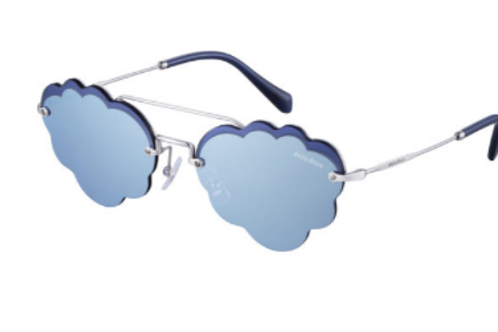 Occhiale da Sole Miu Miu SMU57U Cloud Blu