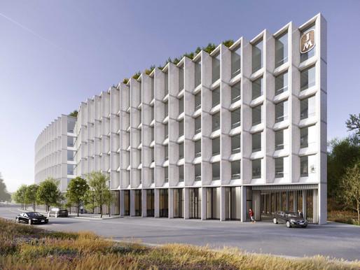 JM bygger nytt huvudkontor vid Karlbergskanal