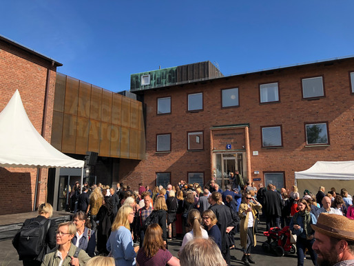 INVIGNING KONSTHALL ACCELERATOR!