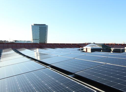Solceller producerar!