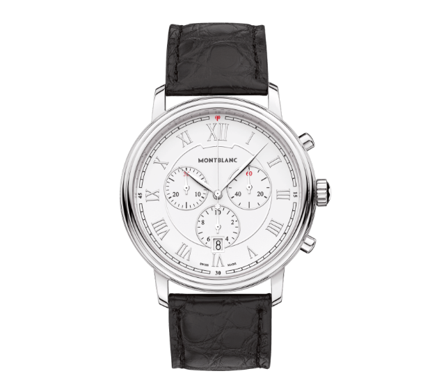 montblanc orologi quarzo orologio watch