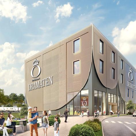 ECO projekterar Kungliga Operans och Dramatens nya ateljéer och verkstäder.