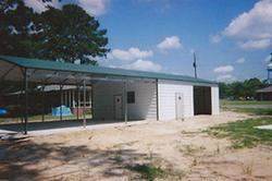 Carport + Garage