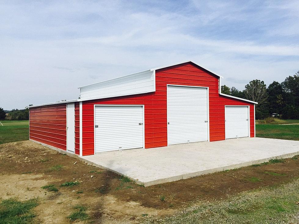Two Car Garage Installed Barns Carports More: USB Garages - Garages, Carports, And More